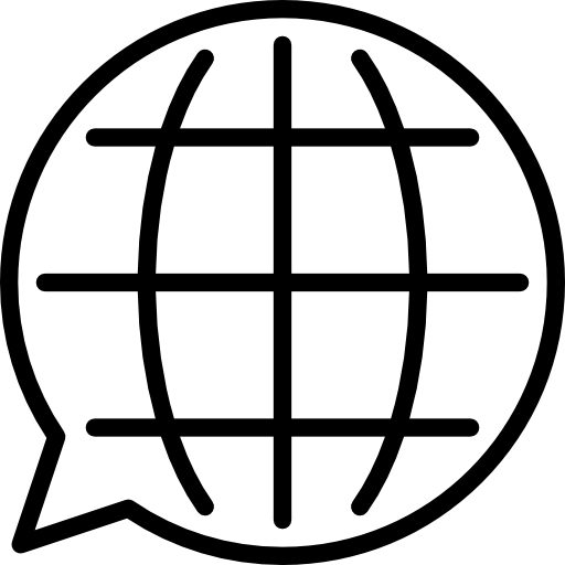 globe symbol used on courses page